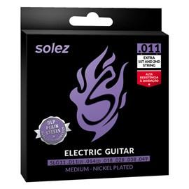 Encordoamento para Guitarra 11 - 49 DLP SLG11 Solez