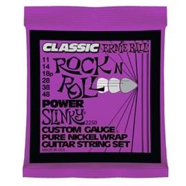 Encordoamento para Guitarra 2250 Classic Power Slink 0.011-0.048 Ernie Ball