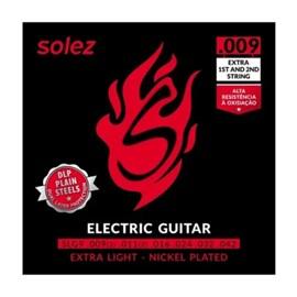 Encordoamento para Guitarra 9 - 42 DLP SLG9 Solez