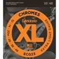 Encordoamento para Guitarra Chromes Ecg23 Extra Light  0.010-0.048 Jogo de Cordas D'Addario