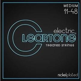 Encordoamento para Guitarra Eletric Medium 11-48 Cleartone