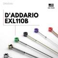 Encordoamento para Guitarra EXL110 0.010-0.046  Jogo de cordas D'Addario