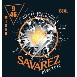 Encordoamento para Guitarra EXLHT/LGHT X50XLL Savarez