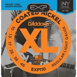 Encordoamento para Guitarra Exp110 NY Steel Light 0.010-0.046 Jogo de Cordas D'Addario