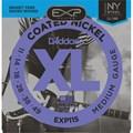 Encordoamento para Guitarra EXP115 NY Steel 0.011-0.049 Jogo de Cordas D'Addario