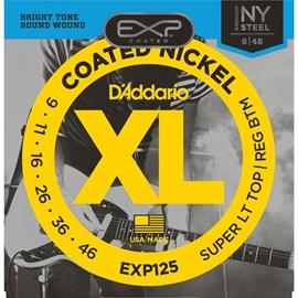 Encordoamento para Guitarra Exp125 NY Steel 0.009-0.046 Jogo de Cordas D'Addario