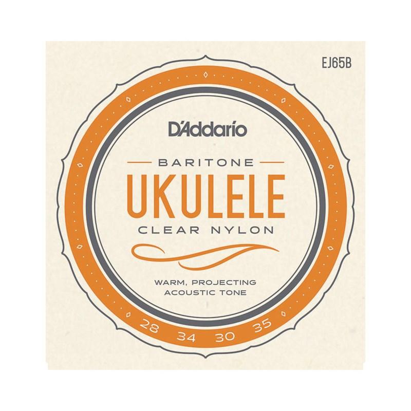 Encordoamento Para Ukulele Baritono EJ 65 B D'Addario