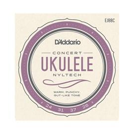 Encordoamento Para Ukulele Concert EJ88C D'Addario