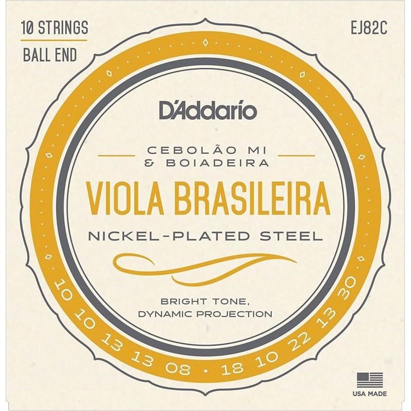 """Encordoamento para Viola EJ82C Cebolao """"mi"""" Jogo de Cordas D'Addario"""