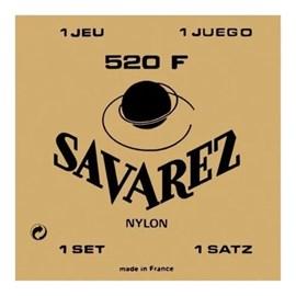 Encordoamento para Violão 520F Tensão Forte Jogo de Cordas Savarez