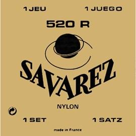 ?Encordoamento para Violão 520R Tensão Média/forte Jogo de Cordas Savarez