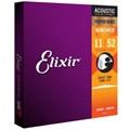 Encordoamento para Violão Aço 0.011-0.052 Phosphor Bronze Jogo de Cordas 16027 Elixir