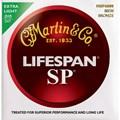 Encordoamento para violão Aço MSP6000 Sp Lifespan Extra Light 010-.047 Martin