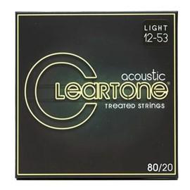 Encordoamento para Violão de Aço 80/20 Bronze Light 12-53 Cleartone