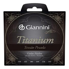 Encordoamento para Violão Genwta Violão Titanium 85/15 (Pesada) Giannini