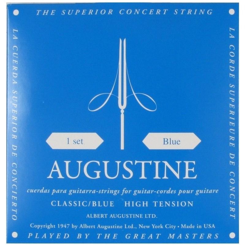 Encordoamento para Violão Nylon Classic Blue Augustine