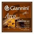 Encordoamento para Violino Geavva Alumínio Jogo de Cordas Giannini