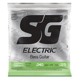 Encordoamento Sg Strings para Baixo 5 Cordas (040) Iz-5029 SG