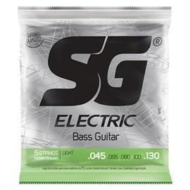 Encordoamento Sg Strings para Baixo 5 Cordas  (045) Iz-5270 SG