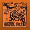 Ernie Ball Skinny Top Heavy Bottom para Guitarra (2215) Ernie Ball