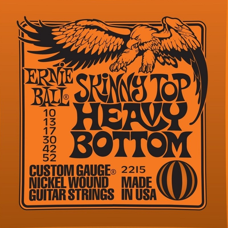 Ernie Ball Skinny Top Heavy Bottom para Guitarra (2215) Ernie Ball