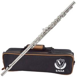 Flauta Transversal Fl05s Prateada Eagle