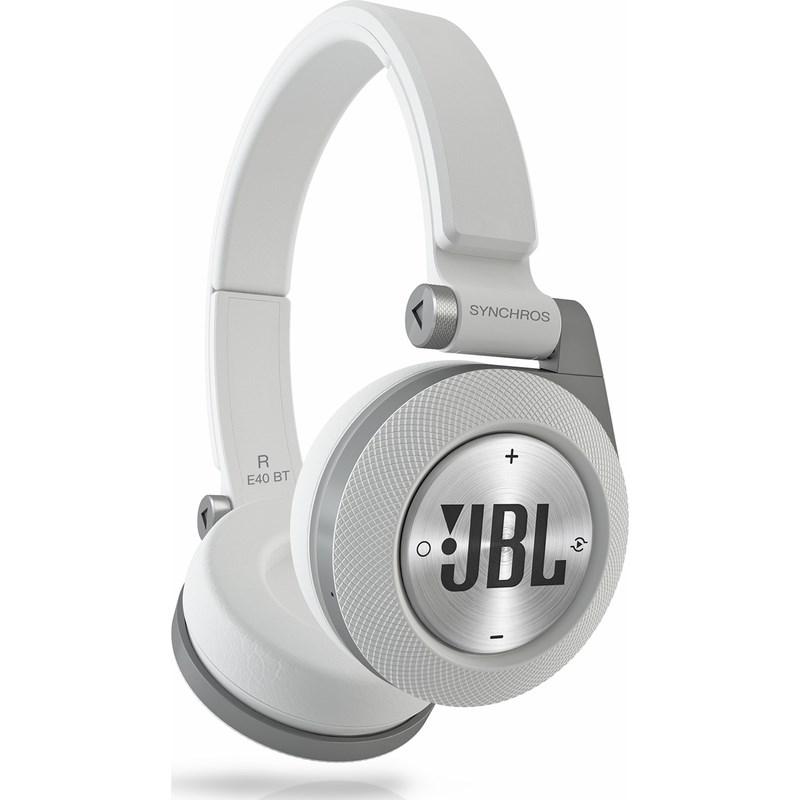 Fone de Ouvido E-40 Bt Jbl - BRANCO (WH)