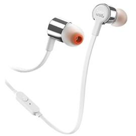 FONE DE OUVIDO IN-EAR T210 Jbl - Prata (SV)