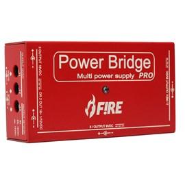 Fonte Extensora para Alimentação de 13 Pedais Power Bridge Pro Fire Custom Shop