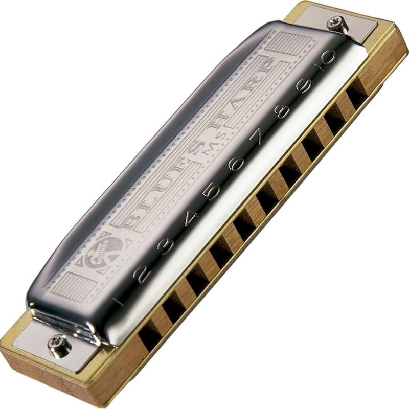 Gaita Blues Harp (Ré) Madeira 20v 532/20d Hohner