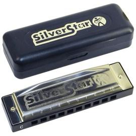 Gaita Diatônica Silver Star C Hohner