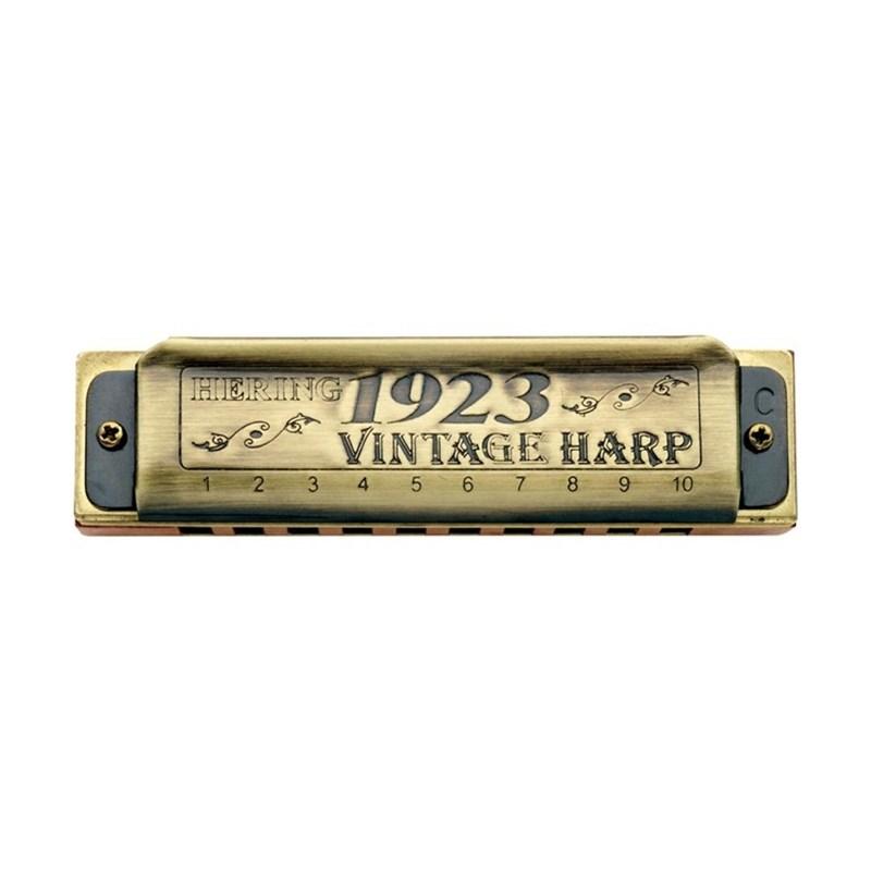 Gaita Diatônica Vintage Harp 1923 1020c (Dó) Hering