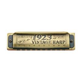 Gaita Diatônica Vintage Harp 1923 1020d (Ré) Hering