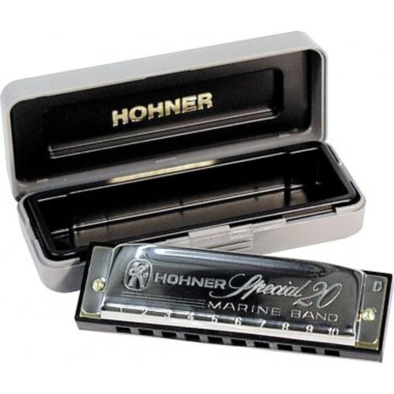 Gaita Hohner Special 20 560/20 e (Mi) Abs Preto Hohner