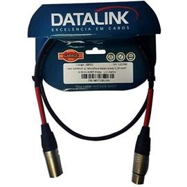 GB001 CABO P/ MICROFONE XLR-XLR 1M Datalink