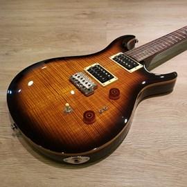 Guitarra 35TH Anniversary SE Custom 24 Black Gold Burst - Edição Comemorativa de 35 Anos PRS - Black