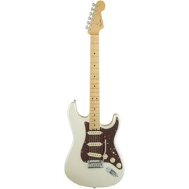Guitarra American Elite Stratocaster Maple Olympic Pearl Fender