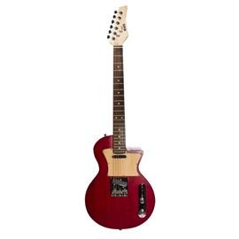 Guitarra Argentina Handmade Frizz Red Wood Newen - Vermelho (Red) (RD)