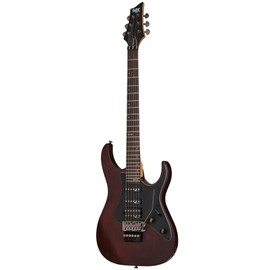 Guitarra Banshee 6 FR SGR By Schecter - Marrom (Walnut Satin) (WS)