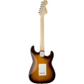 Guitarra Canhota Stratocaster Affinity Series Escala em Laurel Squier By Fender - Sunburst (Brown Sunburst) (532)