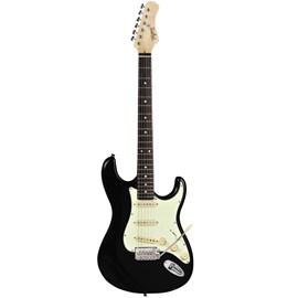 Guitarra Classic Preta T-635 Escala Escura Mint Green Tagima - Preto (BK)