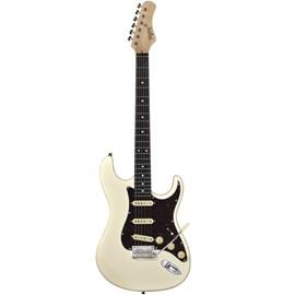 Guitarra Classic Vintage White T-635 Escala Escura Tortoise Tagima - Olympic White (OWH)