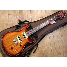Guitarra Custom 24 Exotic Top - Zebra Wood - Vintage Sunburst CU4ZZCBVS PRS - Sunburst (Vintage Sunb