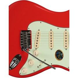 Guitarra Edu Ardanuy EA PRO-2 FR Tagima - Vermelho (Fiesta Red) (540)