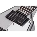 Guitarra Flying V V1 Platinum Schecter - Prata (Satin Silver) (SSV)