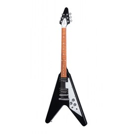 Guitarra Gibson Flying V 2017 T com Case Gibson - Preto (Ebony) (EB)