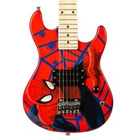 Guitarra Infantil Marvel Gms-k1 Homem Aranha Phx