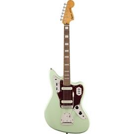 Guitarra Jaguar Classic Vibes  Series 70's Escala em Laurel Squier By Fender - Verde (Surf Green) (557)