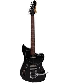 Guitarra Jet Blues Deluxe Bigsby Série Brasil Tagima - Preto (BK)