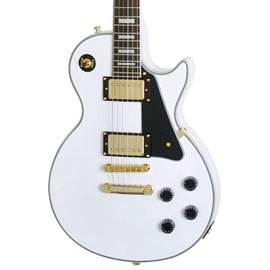 Guitarra Les Paul Custom Pro Epiphone - Branco (Alpine White) (AW)